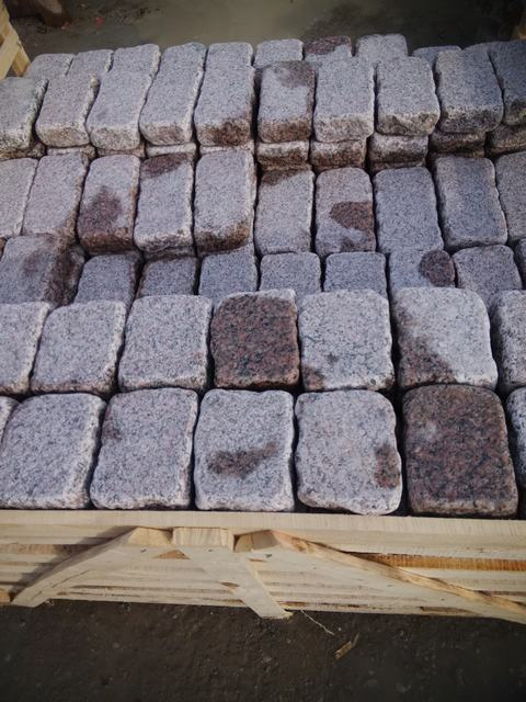 Red Granite Cube : Cubes paving stone products qingdao haipuya